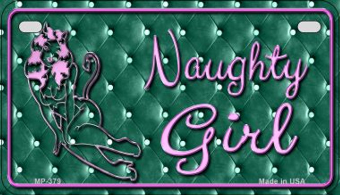 Naughty Girl Wholesale Metal Novelty Motorcycle License Plate MP-379