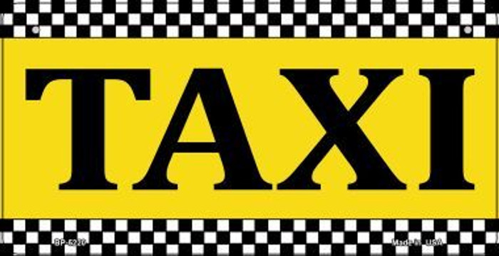 Taxi Wholesale Metal Novelty Bicycle License Plate BP-5220