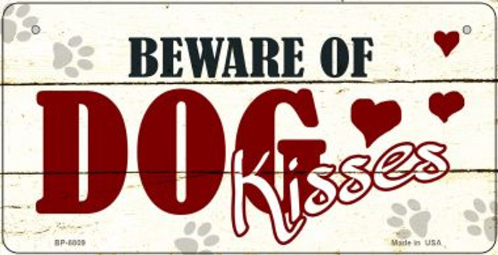 Beware of Dogs Wholesale Metal Novelty Bicycle License Plate BP-8809