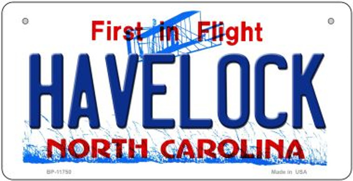 Havelock North Carolina Wholesale State Bicycle License Plate BP-11750