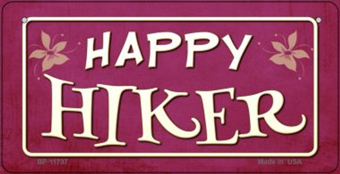 Happy Hiker Wholesale Novelty Bicycle License Plate BP-11737
