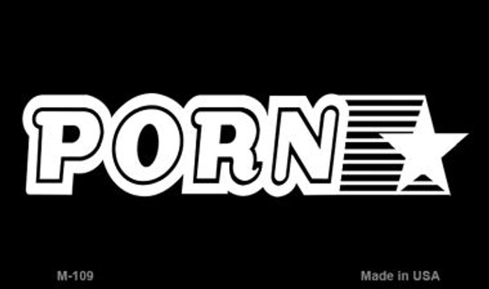 Porn Star Novelty Wholesale Metal Magnet M-109