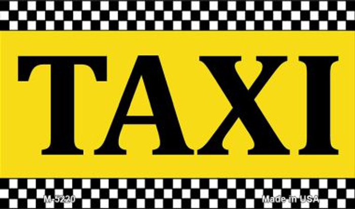 Taxi Wholesale Metal Novelty Magnet M-5220