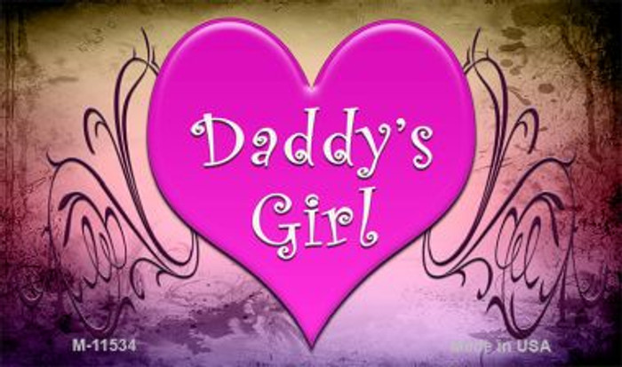 Daddy's Girl Wholesale Novelty Magnet M-11534