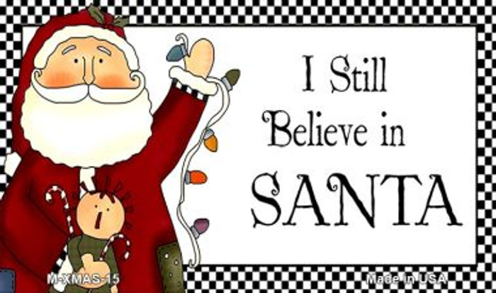 I Still Believe Wholesale Metal Novelty Magnet XMAS-15