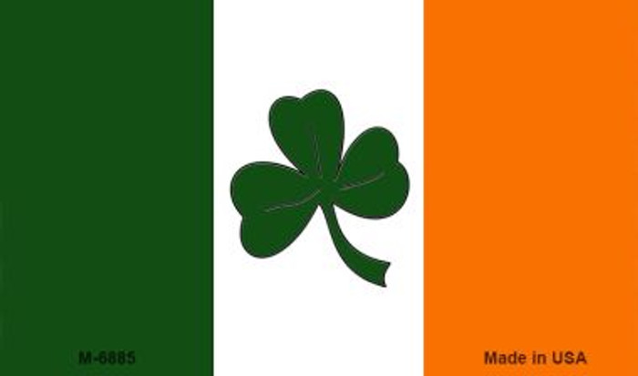 Shamrock Irish Flag Wholesale Metal Novelty Magnet M-6885