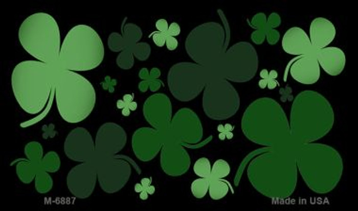 Clovers Wholesale Metal Novelty Magnet M-6887