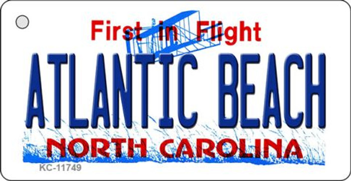 Atlantic Beach North Carolina Wholesale State Key Chain KC-11749