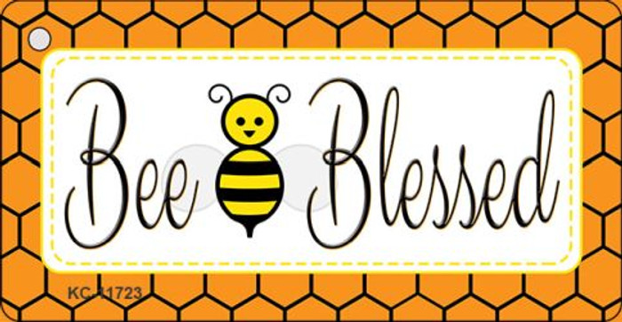 Bee Blessed Simple Wholesale Novelty Key Chain KC-11723