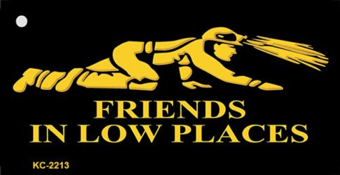 Miners Friends In Low Places Wholesale Metal Novelty Key Chain KC-2213