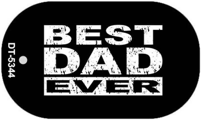 Best Dad Ever Novelty Wholesale Metal Dog Tag Kit DT-5344