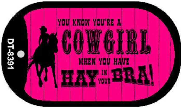 Cowgirl Wholesale Metal Novelty Dog Tag Kit DT-8391