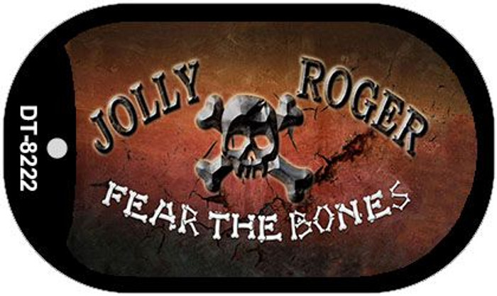 Fear The Bones Wholesale Novelty Metal Dog Tag Kit DT-8222