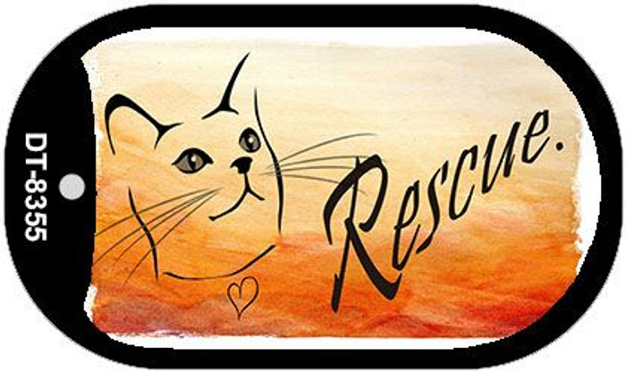 Rescue Cat Wholesale Metal Novelty Dog Tag Kit DT-8355