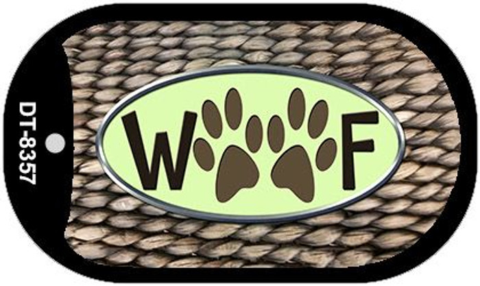 Woof Wholesale Metal Novelty Dog Tag Kit DT-8357