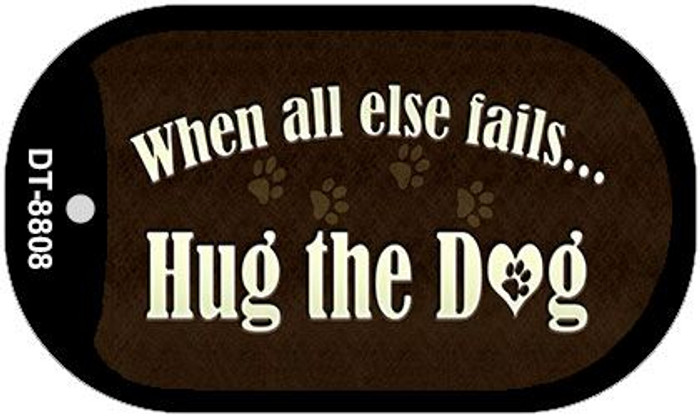 Hug The Dog Wholesale Metal Novelty Dog Tag Kit DT-8808