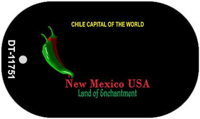 New Mexico Blank Black Wholesale State Dog Tag Kit DT-11751