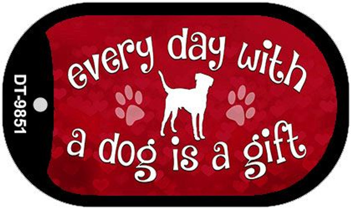 Dog Is A Gift Novelty Wholesale Metal Dog Tag Kit DT-9851