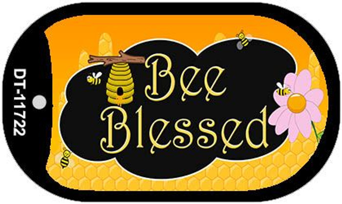Bee Blessed Honey Hive Wholesale Novelty Dog Tag Kit DT-11722