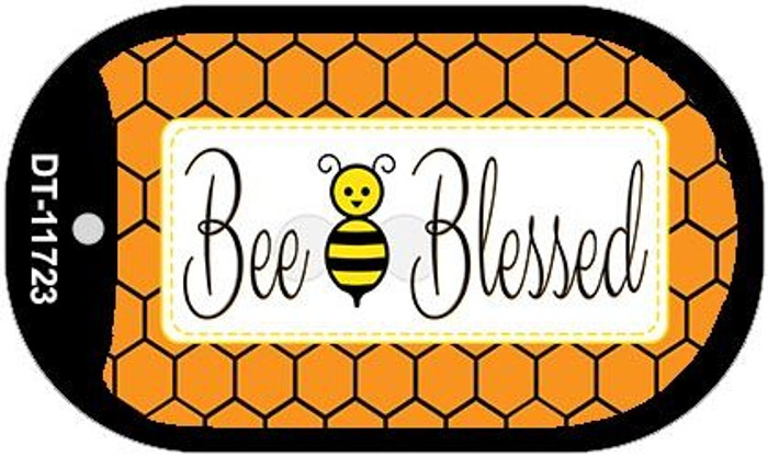 Bee Blessed Simple Wholesale Novelty Dog Tag Kit DT-11723