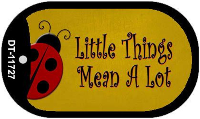 Little Things Mean A Lot Wholesale Novelty Dog Tag Kit DT-11727
