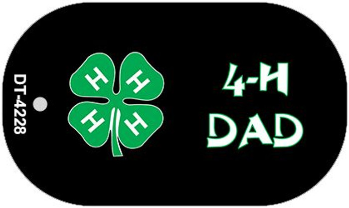 4-H Dad Wholesale Metal Novelty Dog Tag Kit DT-4228
