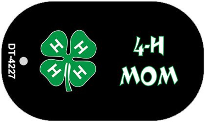 4-H Mom Wholesale Metal Novelty Dog Tag Kit DT-4227