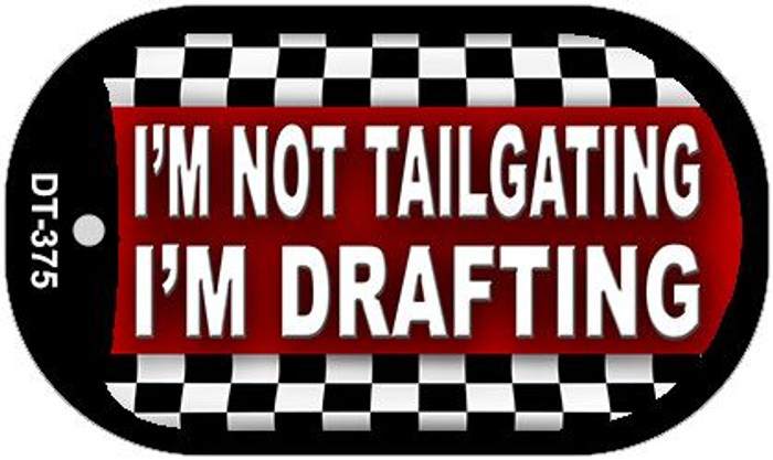 Not Tailgating Drafting Wholesale Metal Novelty Dog Tag Kit DT-375