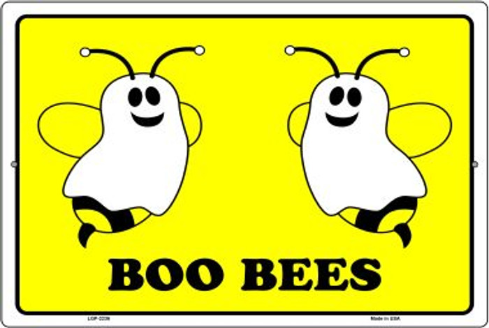 Boo Bees Wholesale Metal Novelty Large Parking Sign LGP-2236