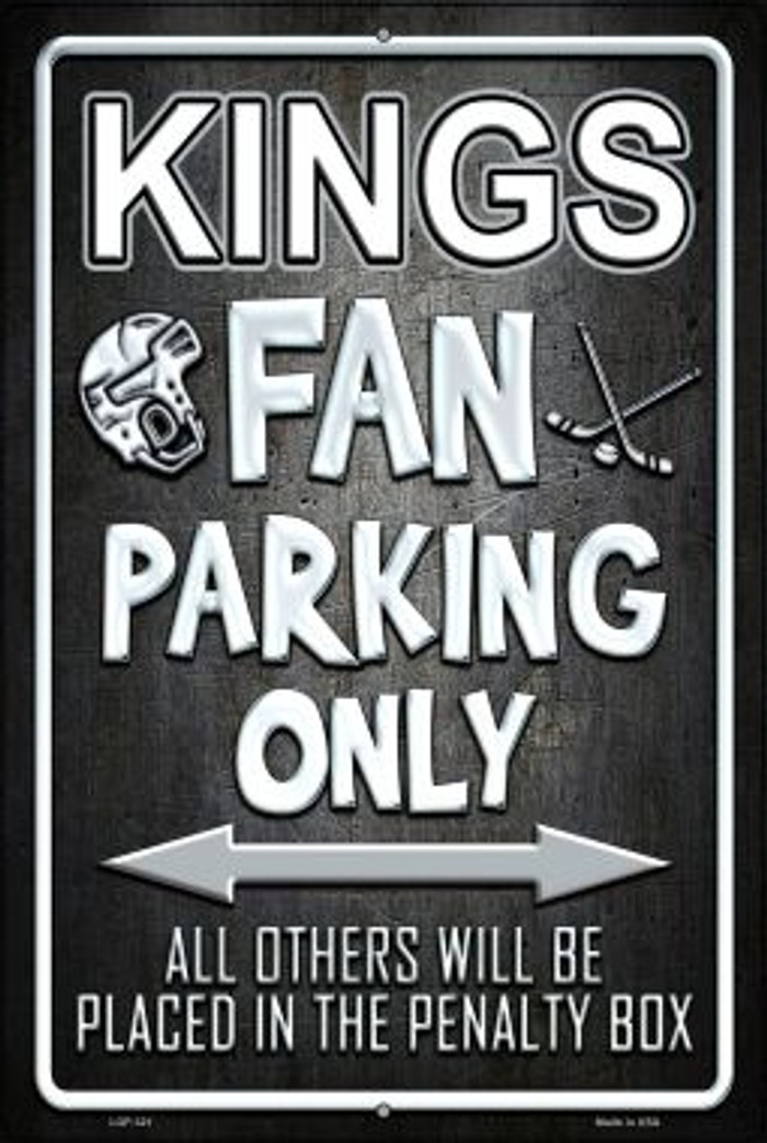 Kings Wholesale Metal Novelty Large Parking Sign LGP-321