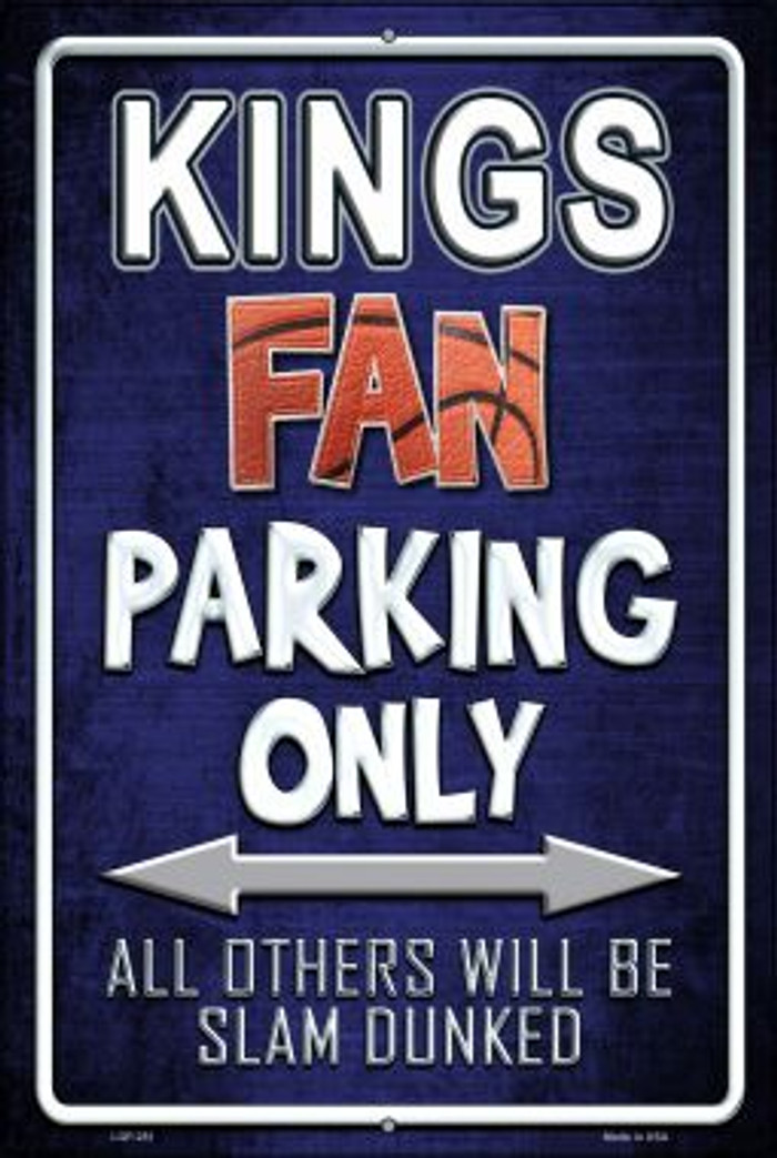 Kings Wholesale Metal Novelty Large Parking Sign LGP-251