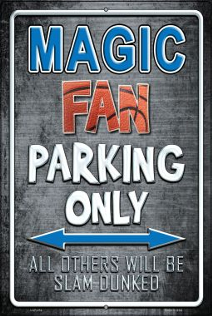 Magic Wholesale Metal Novelty Large Parking Sign LGP-254