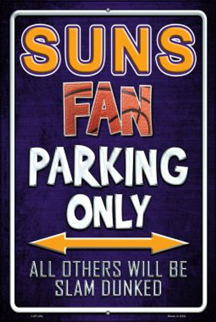 Suns Wholesale Metal Novelty Large Parking Sign LGP-264