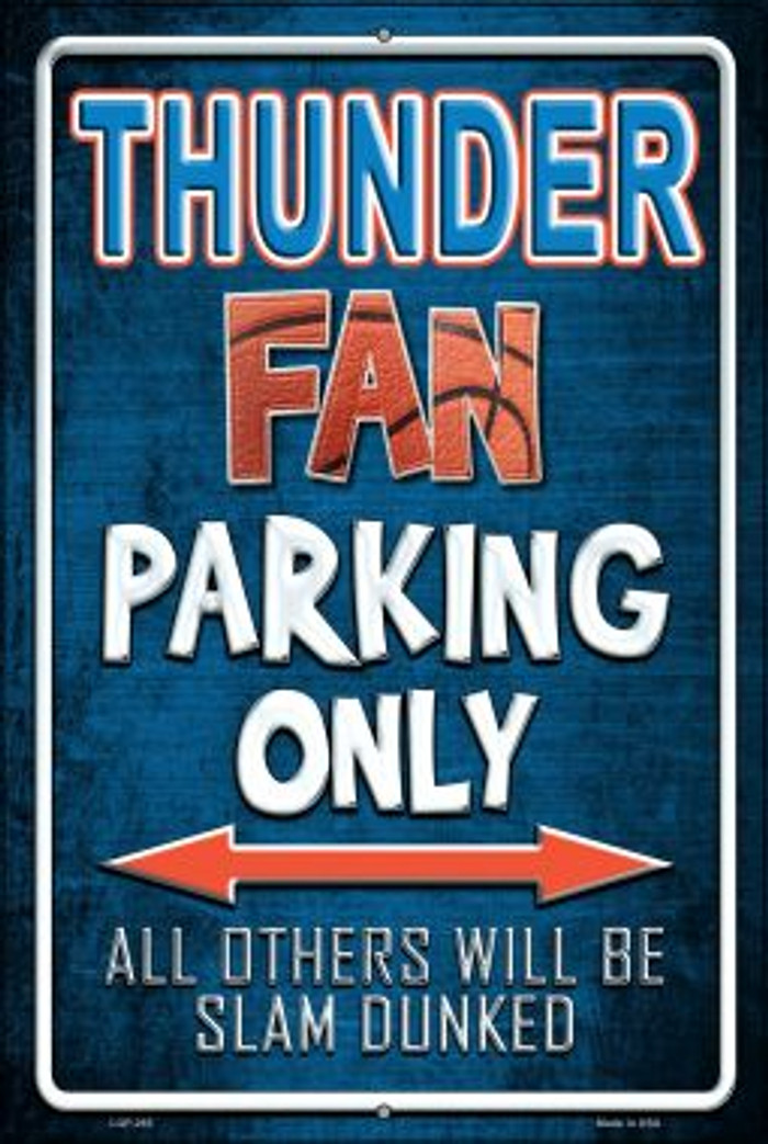 Thunder Wholesale Metal Novelty Large Parking Sign LGP-265