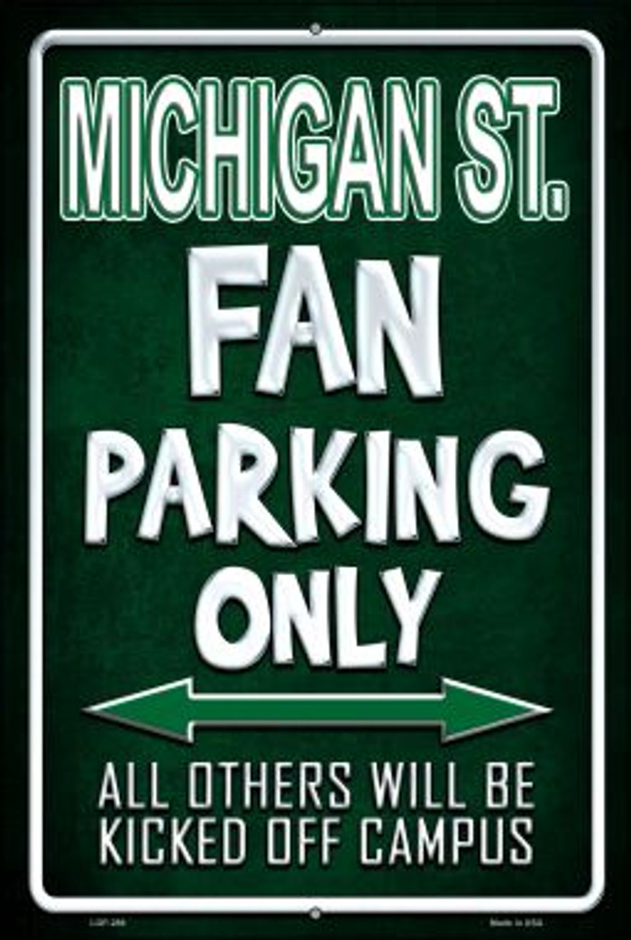 Michigan State Wholesale Metal Novelty Large Parking Sign LGP-286