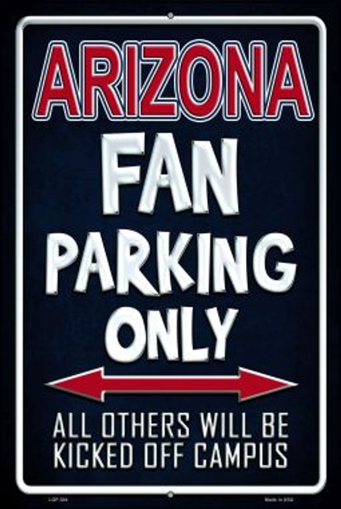 Arizona Wholesale Metal Novelty Large Parking Sign LGP-304