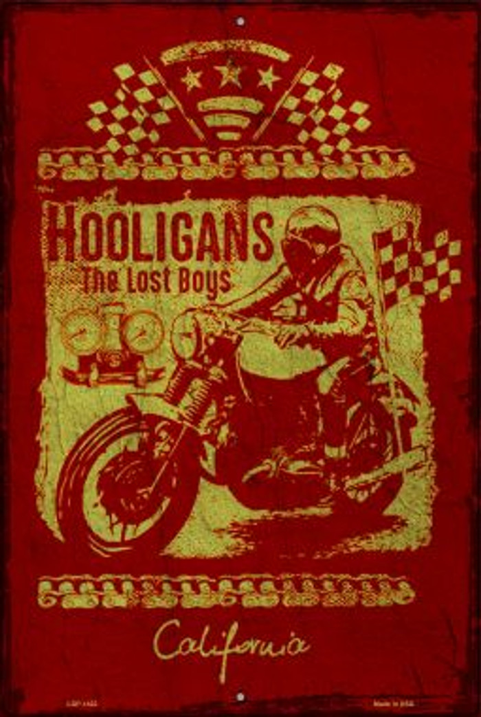 Hooligans Wholesale Metal Novelty Large Parking Sign LGP-1422