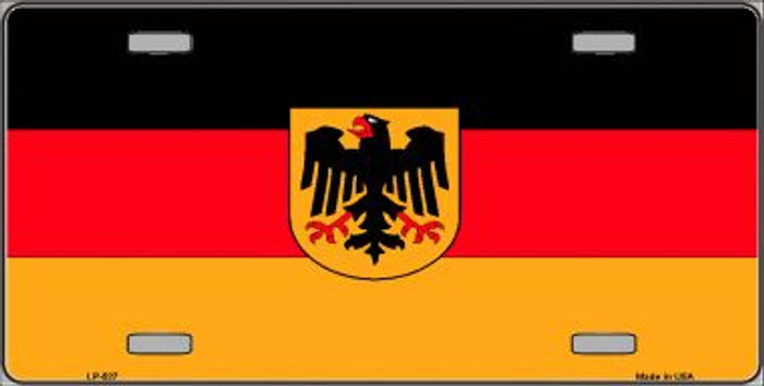 Germany State Flag Wholesale Metal Novelty License Plate LP-527