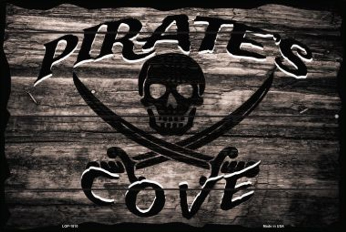 Pirates Cove Wholesale Large Parking Sign LGP-1810