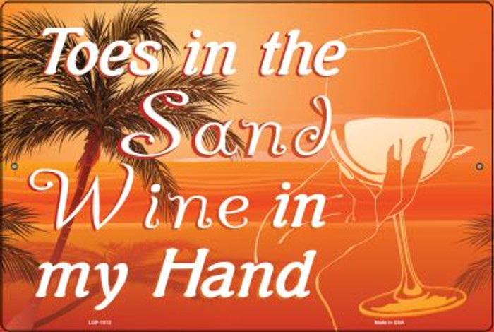 Toes in the Sand Wholesale Large Parking Sign LGP-1813