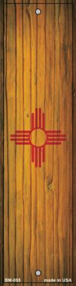 New Mexico Flag Wholesale Novelty Metal Bookmark BM-055
