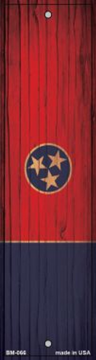 Tennessee Flag Wholesale Novelty Metal Bookmark BM-066