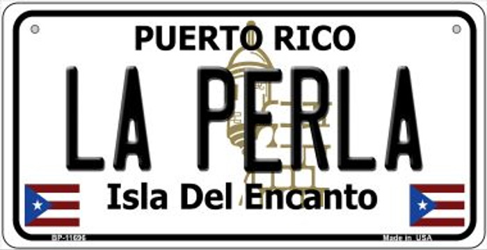 La Perla Puerto Rico Wholesale Novelty Metal Bicycle Plate BP-11696