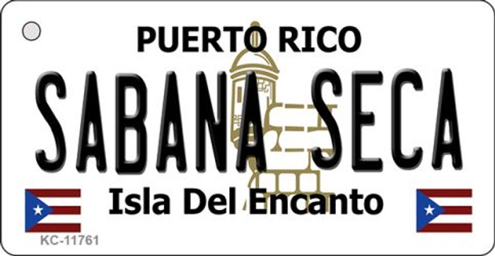 Sabana Seca Puerto Rico Wholesale Novelty Metal Key Chain KC-11761