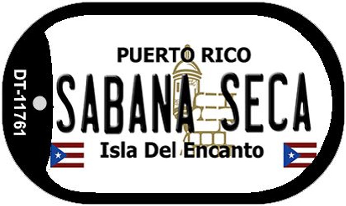 Sabana Seca Puerto Rico Wholesale Novelty Metal Dog Tag Necklace DT-11761
