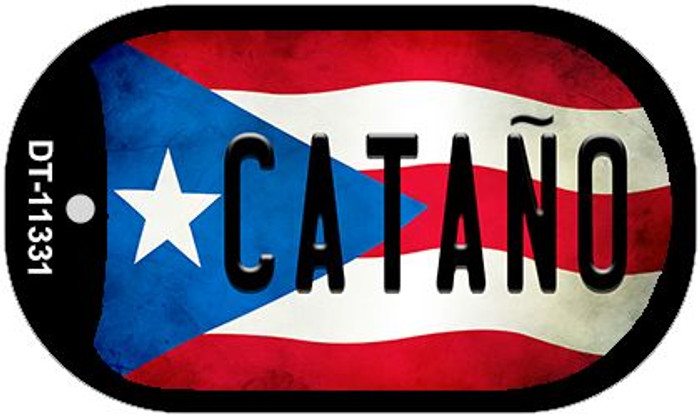 Cantano Puerto Rico State Flag Wholesale Novelty Metal Dog Tag Necklace DT-11331
