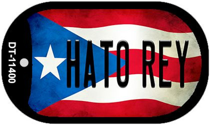 Hato Rey Puerto Rico State Flag Wholesale Novelty Metal Dog Tag Necklace DT-11400