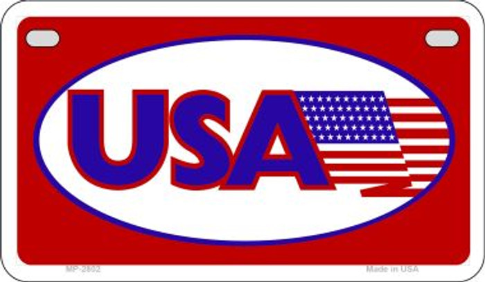USA Wholesale Novelty Metal Motorcycle Plate MP-2802
