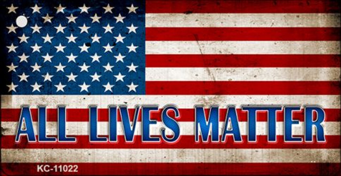 All Lives Matter Wholesale Novelty Metal Key Chain KC-11022