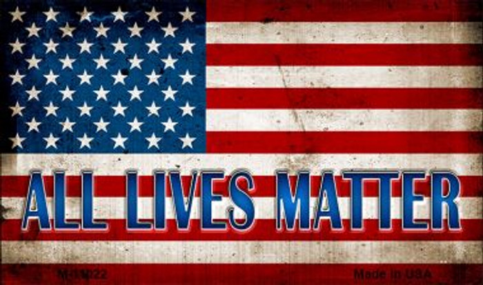 All Lives Matter Wholesale Novelty Metal Magnet M-11022